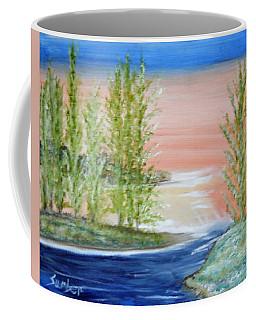 Flathead Lake Sunset Coffee Mug