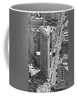 Coffee Mug featuring the photograph Flatiron Building by Randi Grace Nilsberg