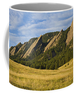 Flatiron Morning Light Boulder Colorado Coffee Mug