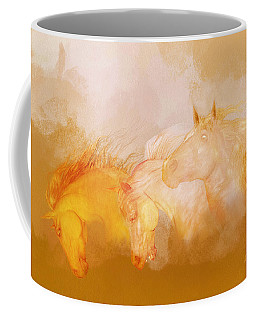Flaxen Manes Coffee Mug