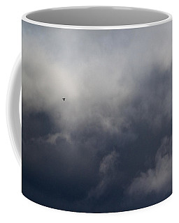 Fleeing The Storm   Coffee Mug