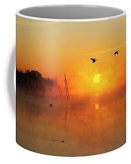 Flight At Sunrise Coffee Mug