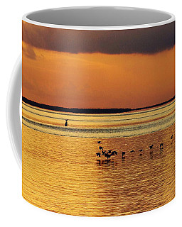Flight At Sunset Coffee Mug