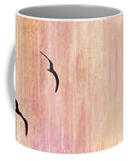 Flight Home - Abstract Art Coffee Mug