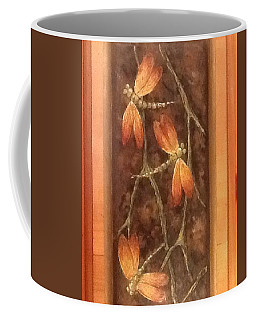 Coffee Mug featuring the painting Flight Of The Dragons by Megan Walsh