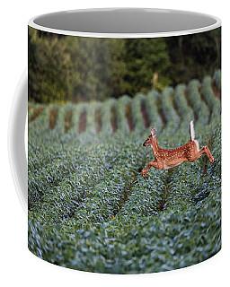 Flight Of The White-tailed Deer Coffee Mug