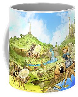 Flight Over Capira Coffee Mug
