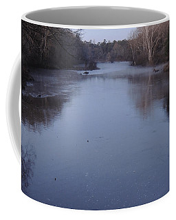 Coffee Mug featuring the photograph Flint River 1 by Kim Pate