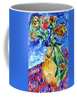 Flip Of Flowers Coffee Mug