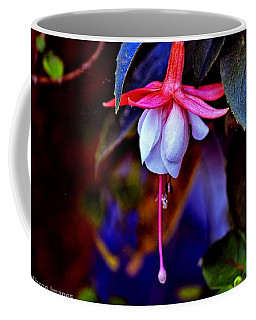 Coffee Mug featuring the photograph Flirtatious Fuschia by Wallaroo Images