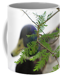 Coffee Mug featuring the photograph Floating By by Beth Vincent