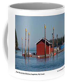 Floating Fish Shack Bay Of Fundy Nb Coffee Mug