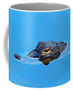 Floating Gator Eye Coffee Mug