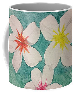 Floating Plumeria Coffee Mug