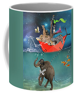 Floating Zoo Coffee Mug
