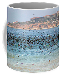 Flocking At Terranea Coffee Mug