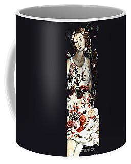 Flora Coffee Mug by Carrie Joy Byrnes