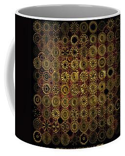 Flora Spiro Metal Quilt Coffee Mug