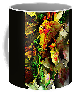 Coffee Mug featuring the digital art Floral 082114 by David Lane