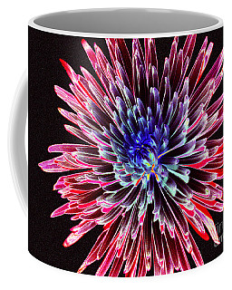 Coffee Mug featuring the photograph Floral Color Burst by Sue Melvin