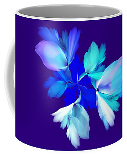 Coffee Mug featuring the digital art Floral Fantasy 012815 by David Lane