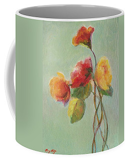 Floral Painting Coffee Mug