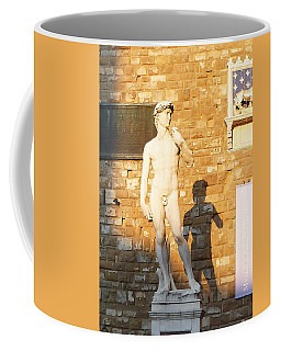 Florence Italy Michelangelo David Replica Coffee Mug