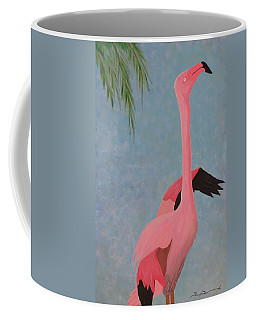 Florida Flamingo Coffee Mug by Tim Townsend