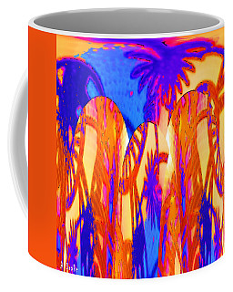 Florida Splash Abstract Coffee Mug