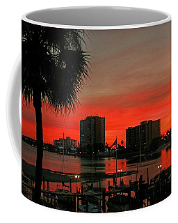 Coffee Mug featuring the photograph Florida Sunset by Hanny Heim