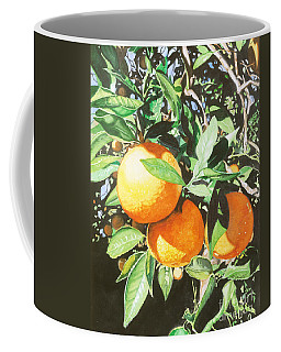 Coffee Mug featuring the painting Florida's Finest by Barbara Jewell