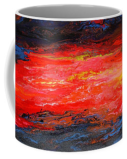 Coffee Mug featuring the painting Flow#2.abstract by Viktor Lazarev