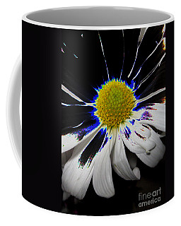 Art. White-black-yellow Flower 2c10  Coffee Mug