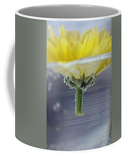 Coffee Mug featuring the photograph Flower Afloat by Adria Trail
