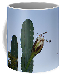 Flower And Bees Coffee Mug