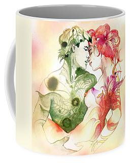 Flower And Leaf Coffee Mug