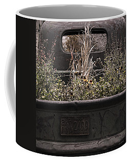 Flower Bed - Nature And Machine Coffee Mug by Steven Milner