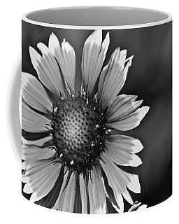 Flower Black And White #1 Coffee Mug