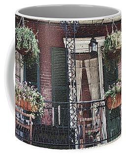 Balcony On The French Quarter Coffee Mug