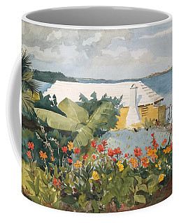 Flower Garden And Bungalow Coffee Mug