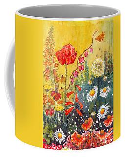 Flower Garden Coffee Mug by Katherine Miller