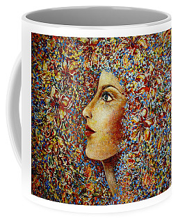 Flower Goddess. Coffee Mug by Natalie Holland