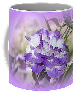Flower In A Haze Coffee Mug by Linda Prewer