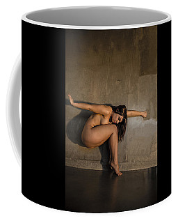 Flower In The Wall Coffee Mug