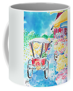 Flower Market  In Chiang Mai Coffee Mug