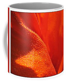 Peace And Death Flower Coffee Mug