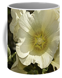 Flower Petals Of A White Flower Coffee Mug