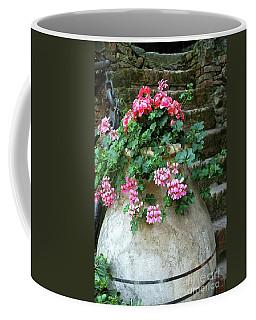 Coffee Mug featuring the photograph Flower Pot 8 by Allen Beatty