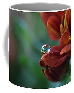 Flower Reflection Coffee Mug by Michelle Meenawong