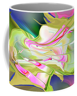 Flower Song Abstract Coffee Mug by rd Erickson